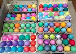 Easter eggs for Worc Fellowship